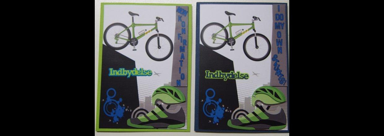 Konfirmation - Cykel