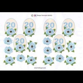 70 års fødselsdag blomster
