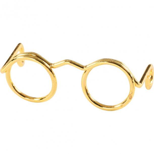 3b6183df4abc Nisse briller i guld