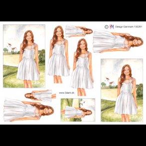 5dd116e1cc2f Konfi Kjole Med Blonder – matterflower.com
