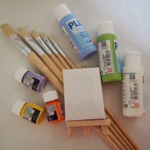 Tusch og Malervarer